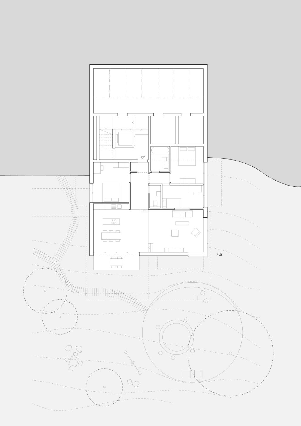 Projects Karamuk Kuo Architects Drawings Plans Autocad Design Drafting Cs 38 Thurgauerstrasse Primary School