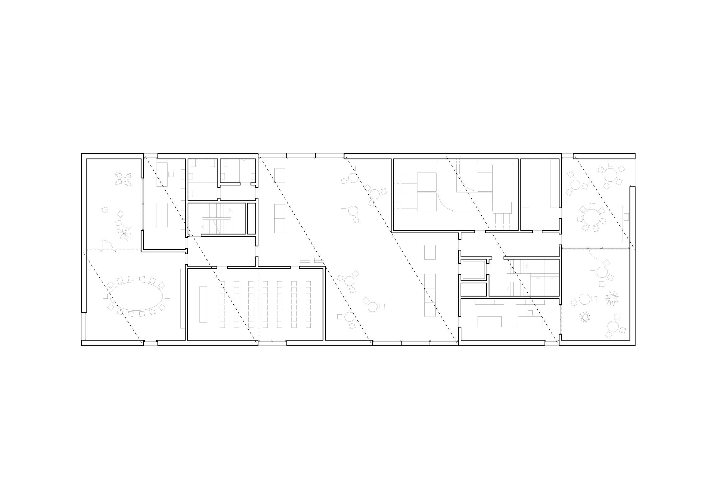 Top floor plan