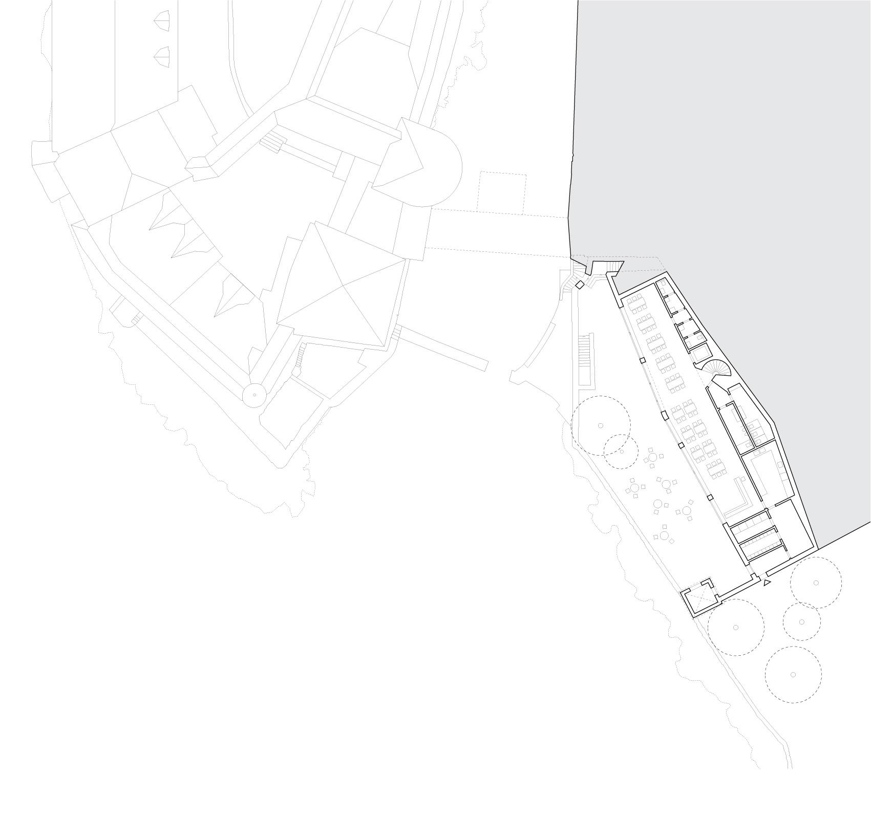 Garden level plan